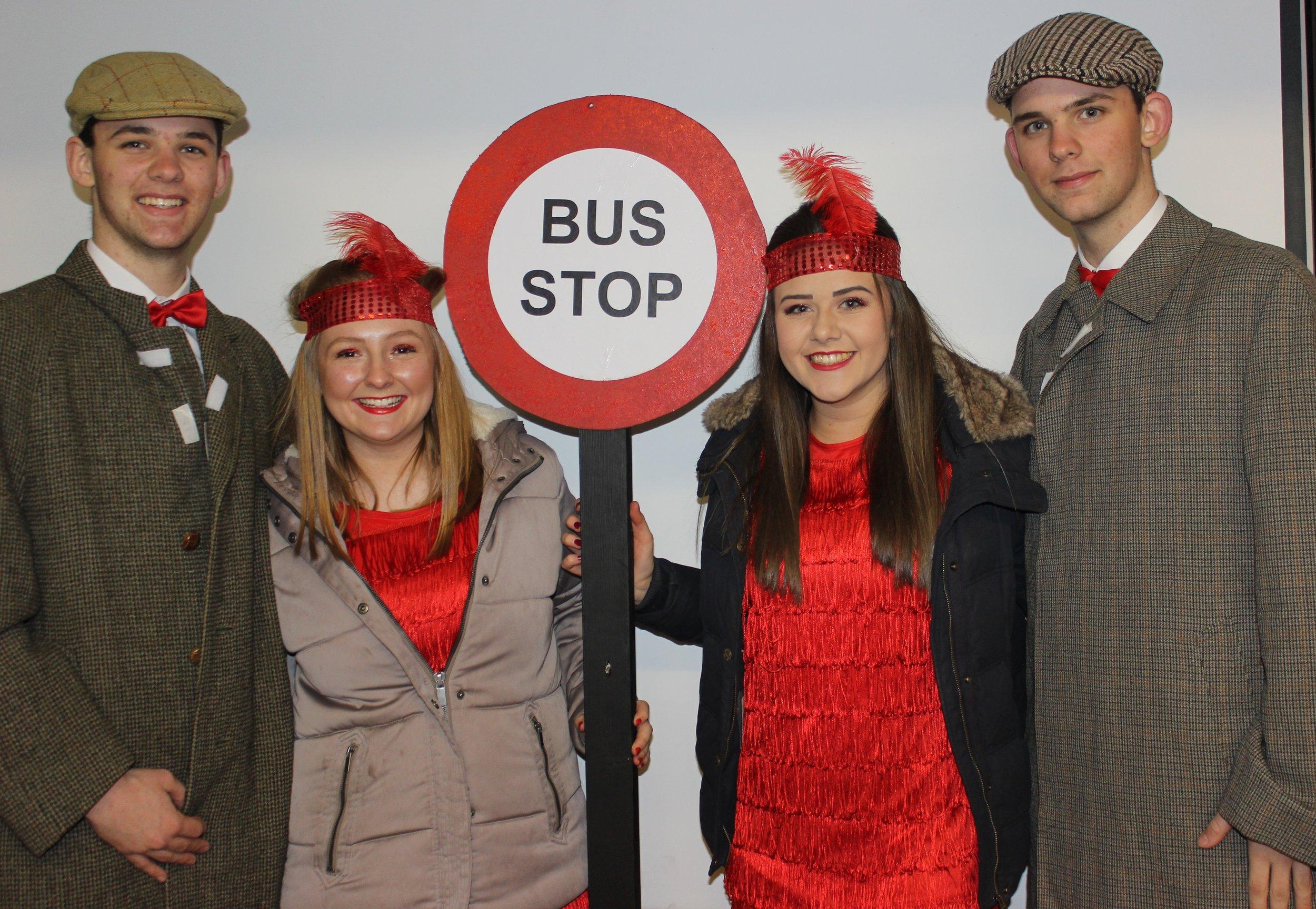 James Powell, Lauren Jones, Lauren Bradford & Dan Powell - winners of the One Plus competition.