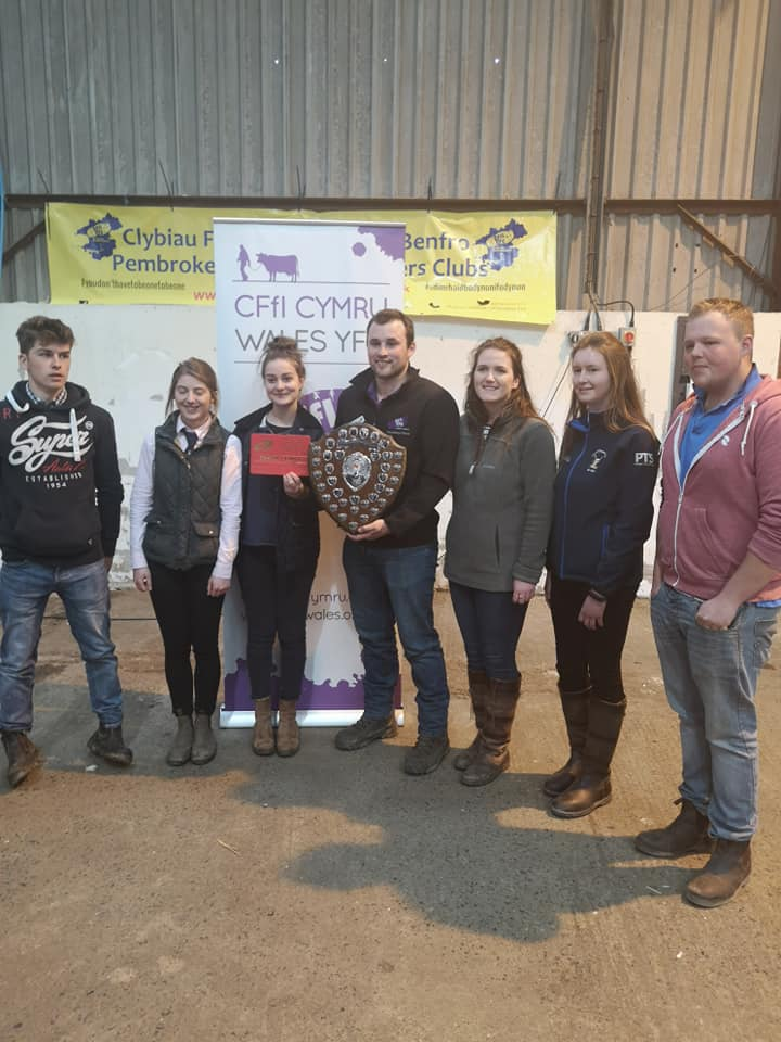 Radnor YFC - 1st place overall at Wales YFC Field Day.