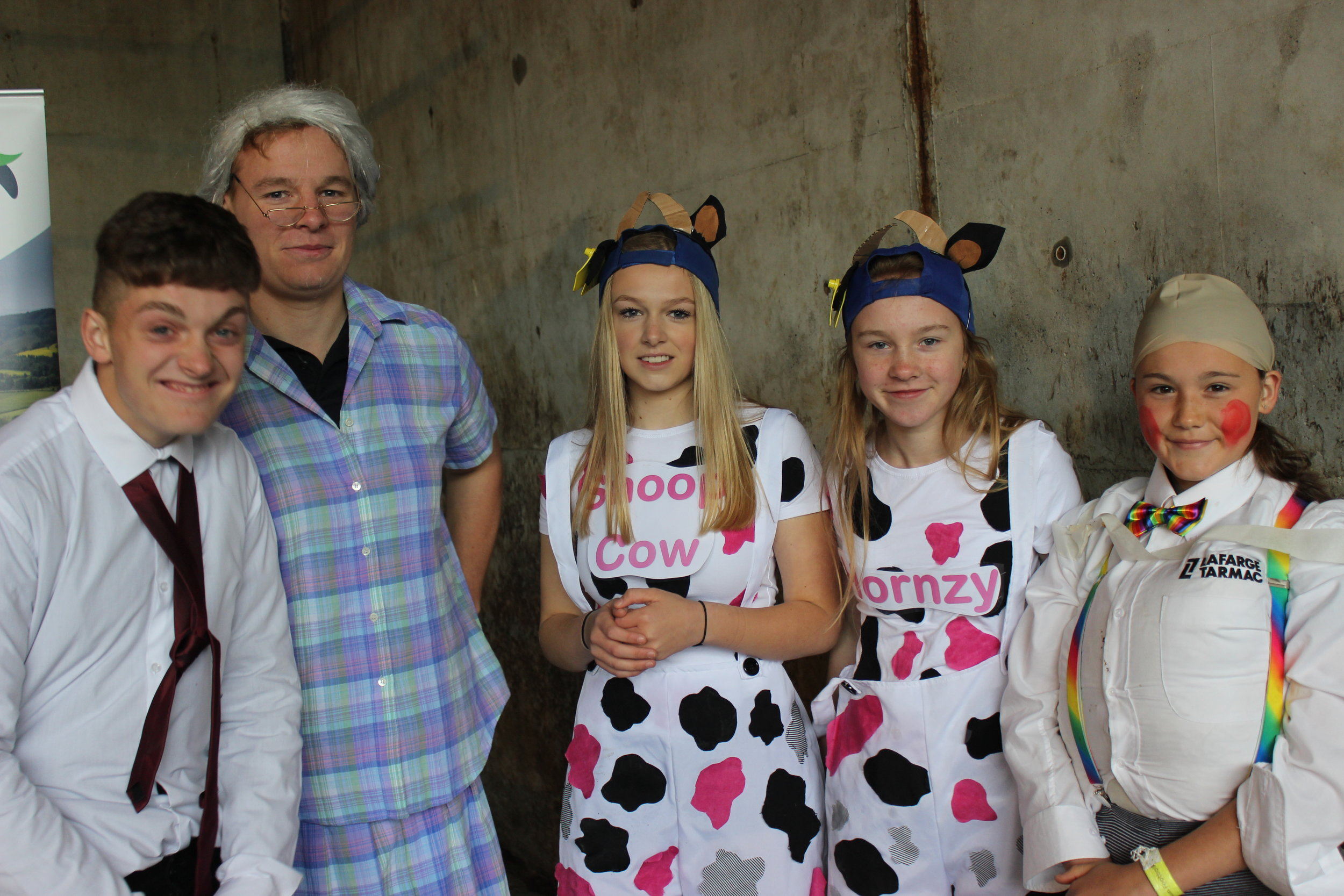 Radnor Valley YFC in the 'A Twist on a Nursery Rhyme' competition.