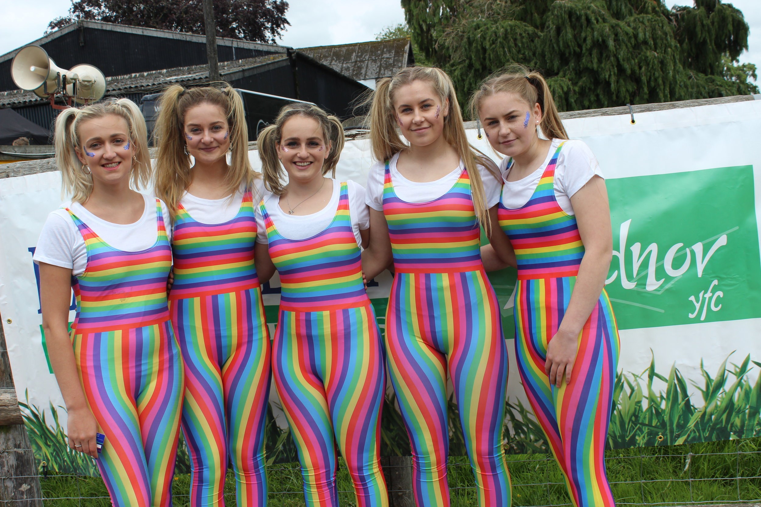 Radnor Valley YFC in the Group Top of the Pops competition.
