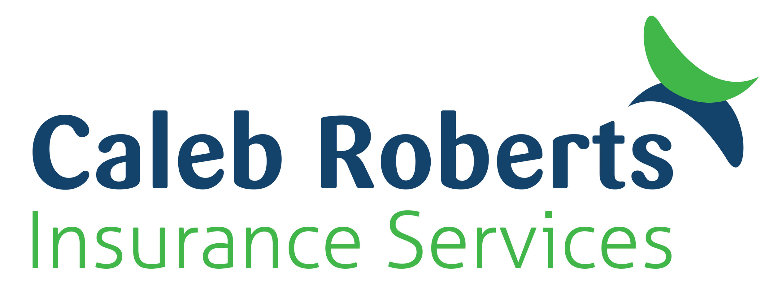 Click on the logo to head to the Caleb Roberts website.
