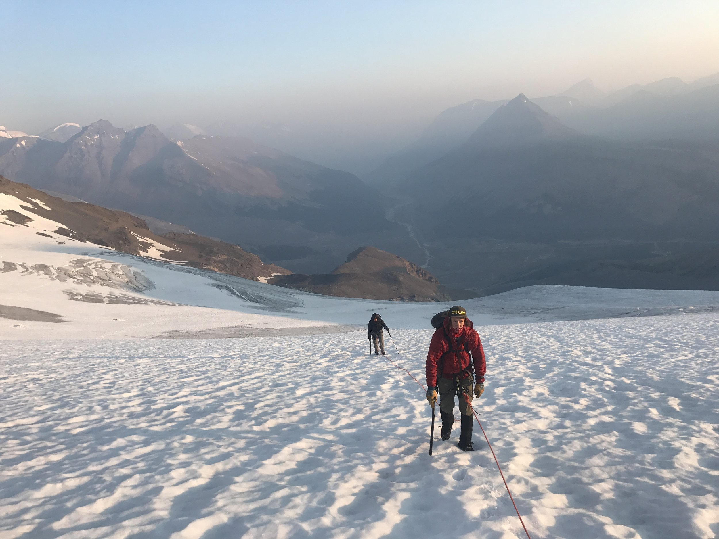 On the North Glacier of Mt Athabasca