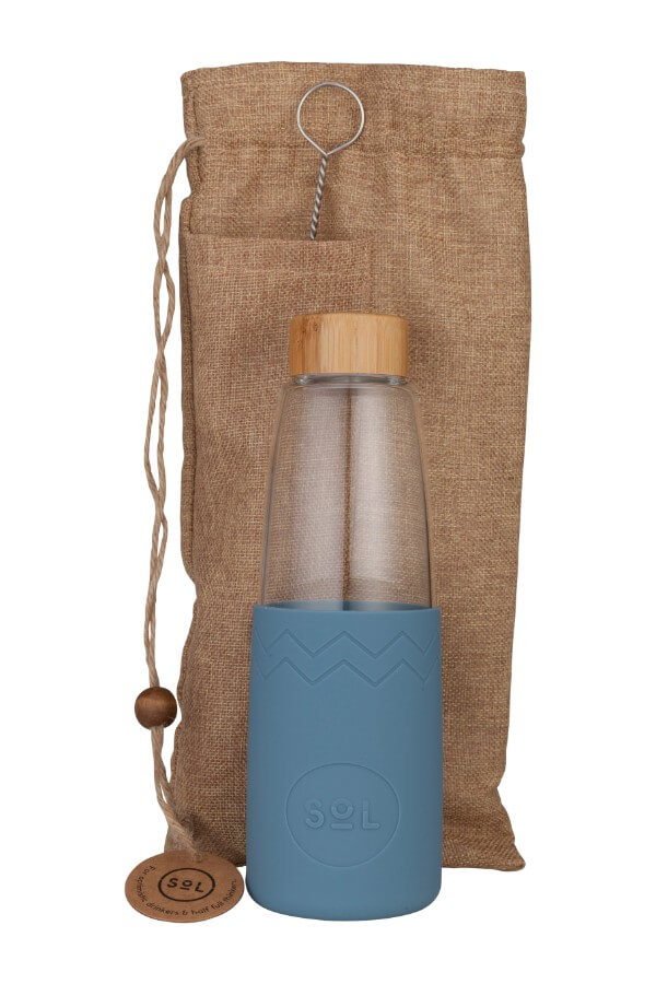 Sol Bottle 850ml - Blue Stone