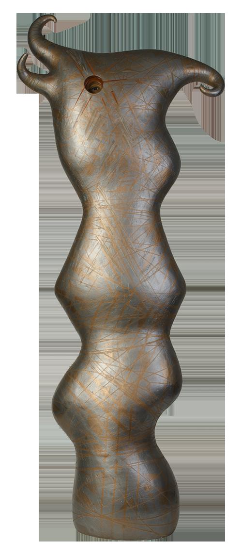 Susan Budge   Metallic Muse , 2015 Ceramic,52 x 20 x 9 inches