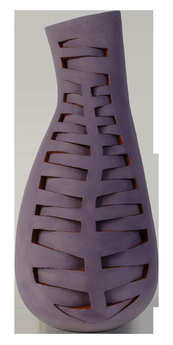 Susan Budge   Not Pot  , 2016   Ceramic, 22 x 9 x 9 inches