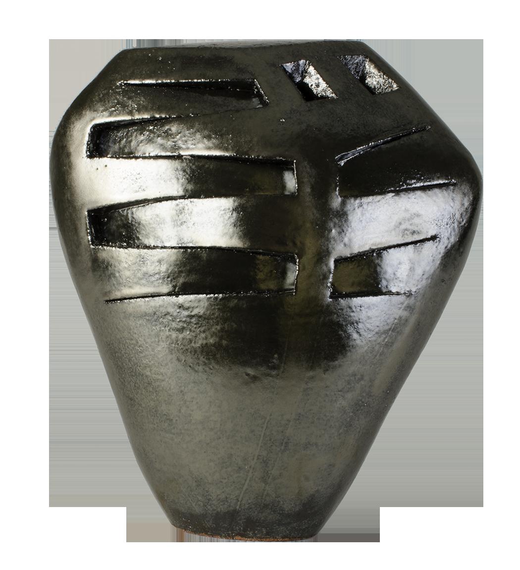 Susan Budge    Puncture Shield,  2016   Ceramic, 9.5 x 8 x 4 inches
