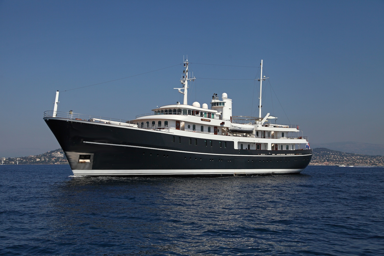 SHERAKHAN   GUESTS: 26 | CABINS: 13 | CREW: 19  LOA: 69.65m | SPEED: 13kn | PRICE: €425,000 p/w