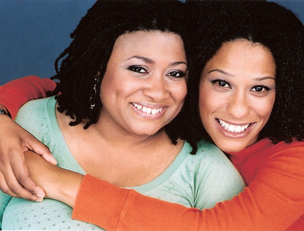 Frances Callier and Angela V. Shelton are real life best friends who talk to each other all day long.