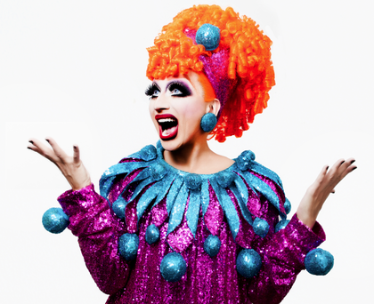 """""""The Joan Rivers of the Drag World"""" –   New York Times"""