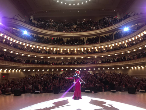 Bianca Del Rio's sold-out Carnegie Hall debut.