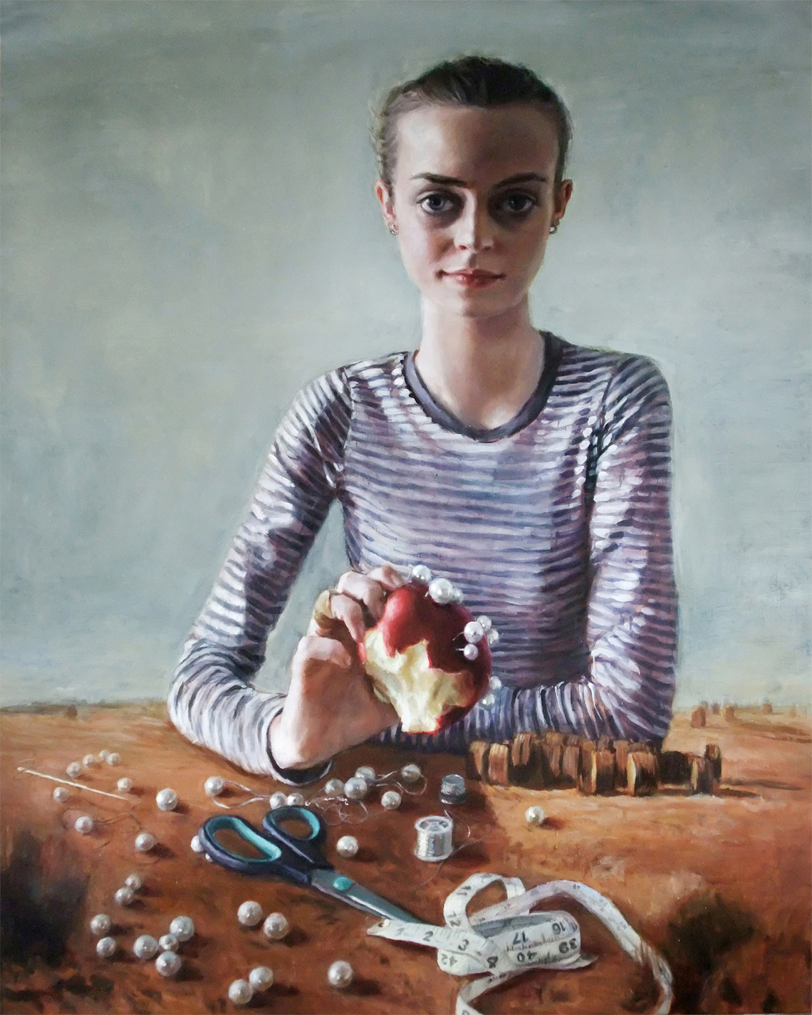 'One Perfect Day' 200x160cm, oil on linen