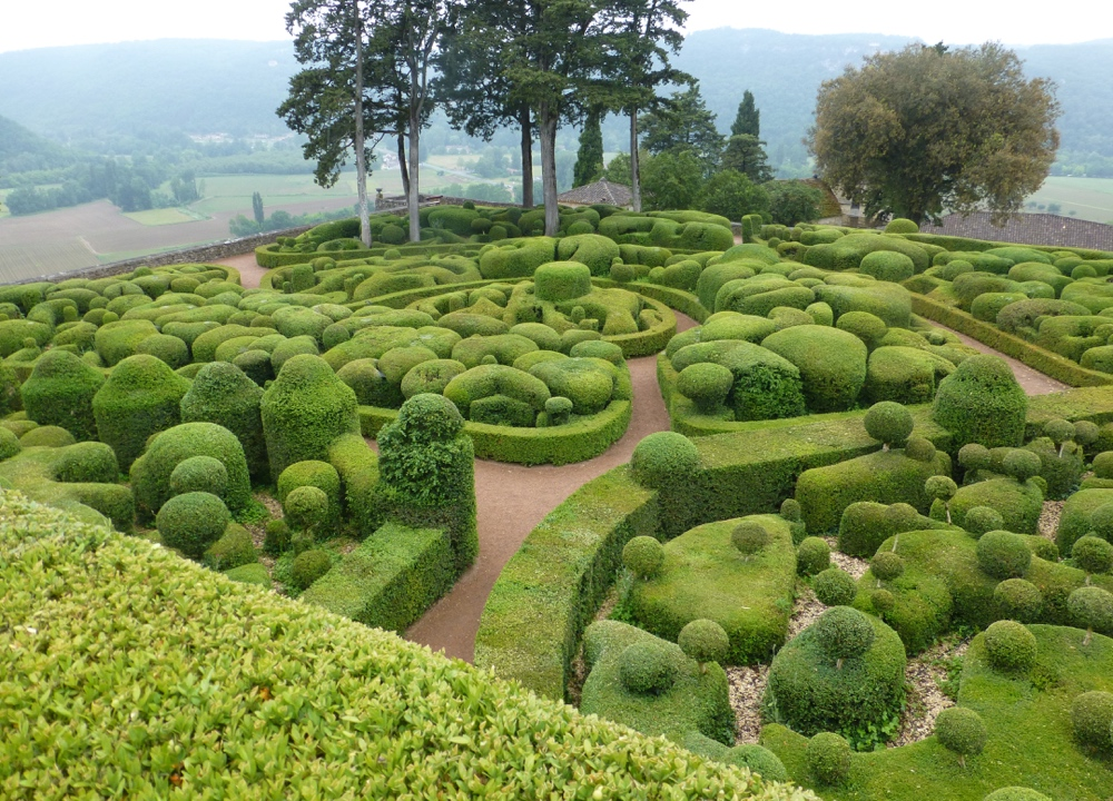 Jardins de Marqueyssac, Dordogne, France