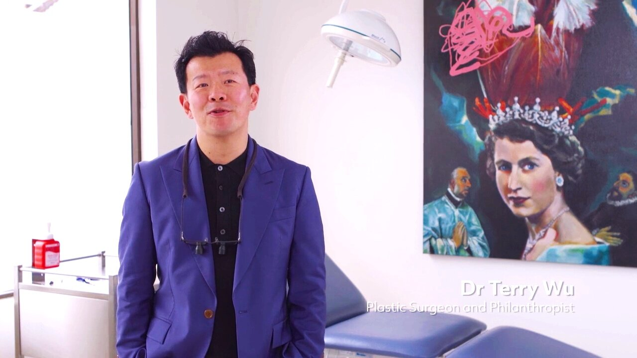 Dr Terry Wu art collector surgery Aerfeldt painting