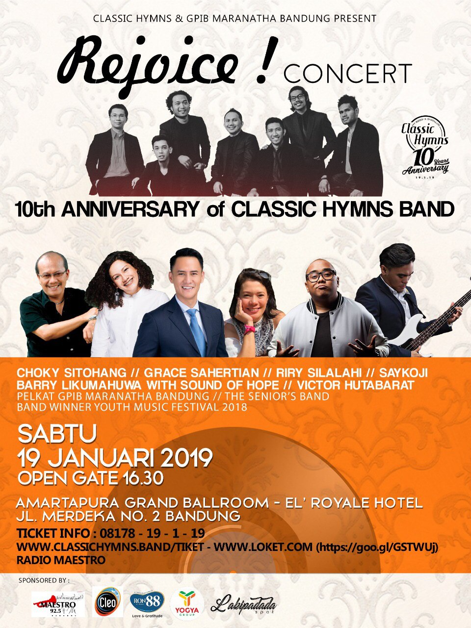 10th Anniversary Classic Hymns Band