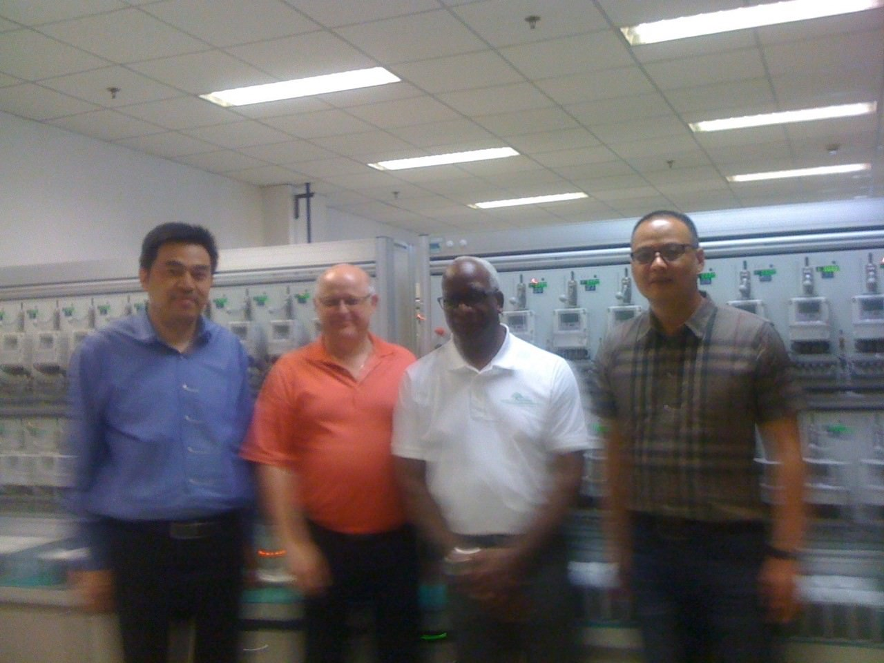 GHTE at JInling Meter Testing Facility, China