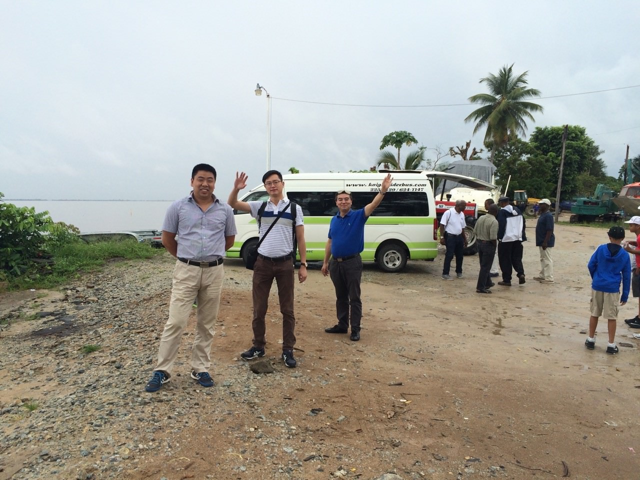 Jinling, TCI & Henleyin Parika, Guyana