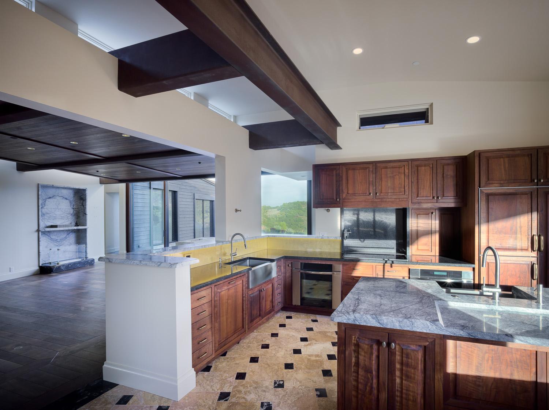 California Residence, House, Natural Light, Natural Materials, Kitchen, Views