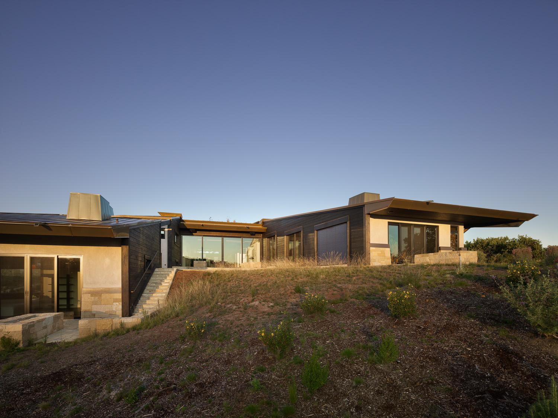 California Residence, House, Sustainability, Nature, Natural Light, Natural Materials, Biophilia, Ecology, Landscape, Landform