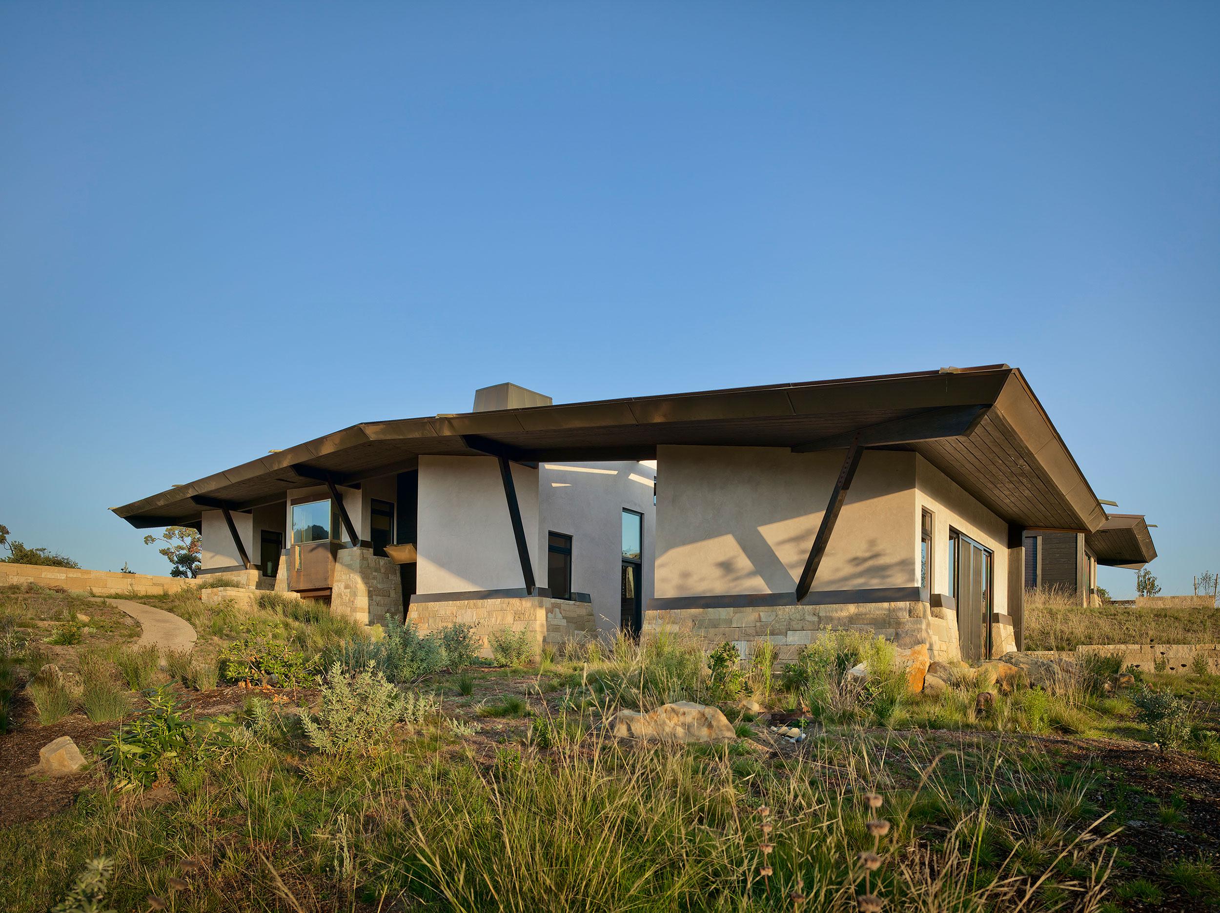 California Residence, House, Sustainability, Nature, Natural Light, Biophilia, Ecology, Habitat, Roof