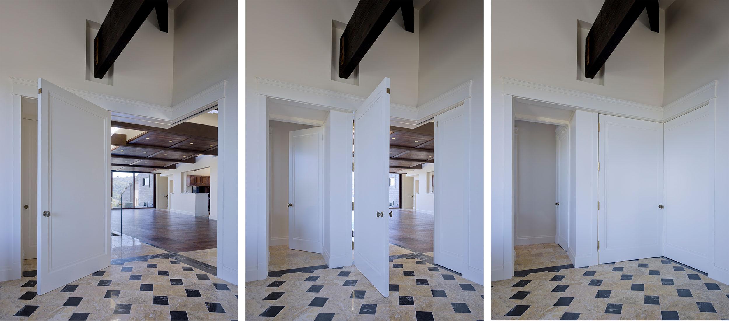 California Residence, House, Sustainability, Doors, Flexibility