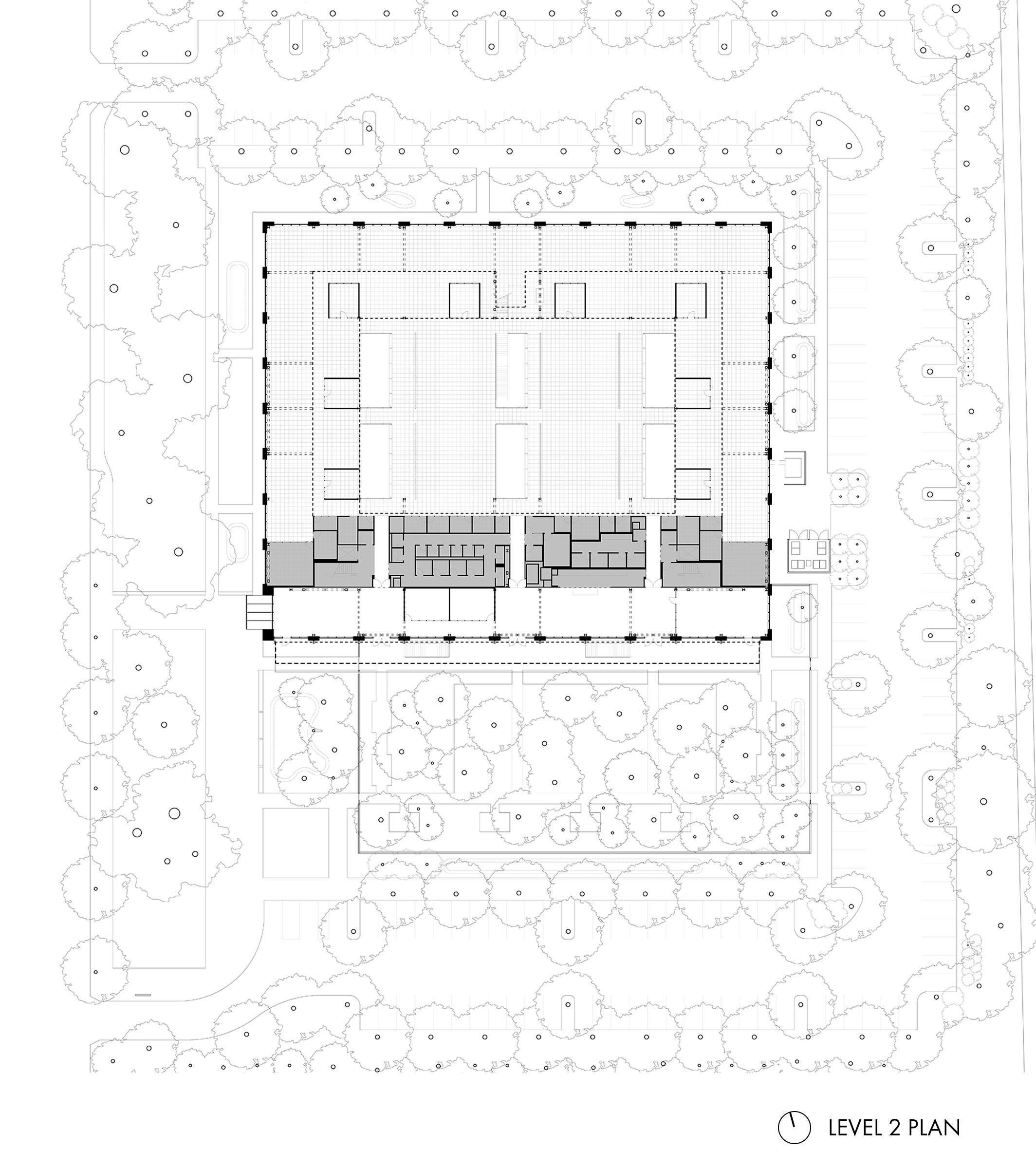 Google at 1212 Bordeaux Level 2 Plan