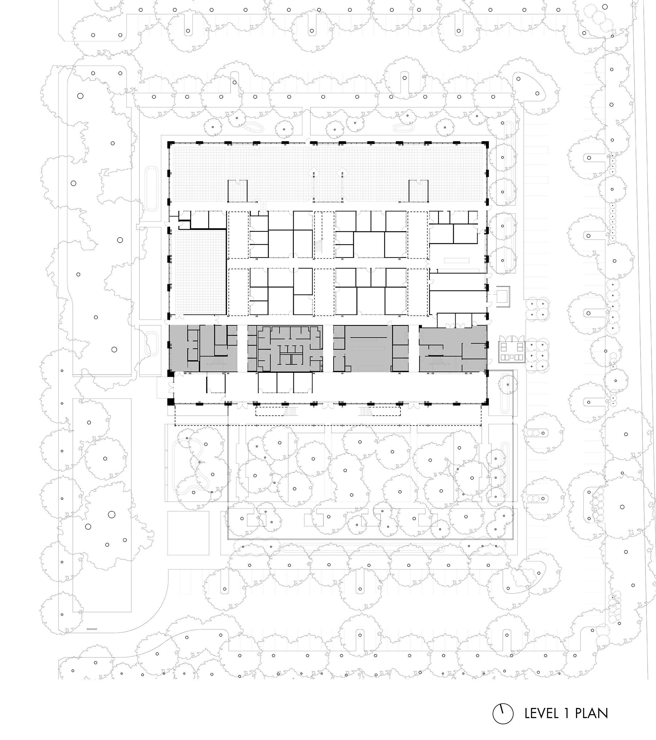 Google at 1212 Bordeaux Level 1 Plan