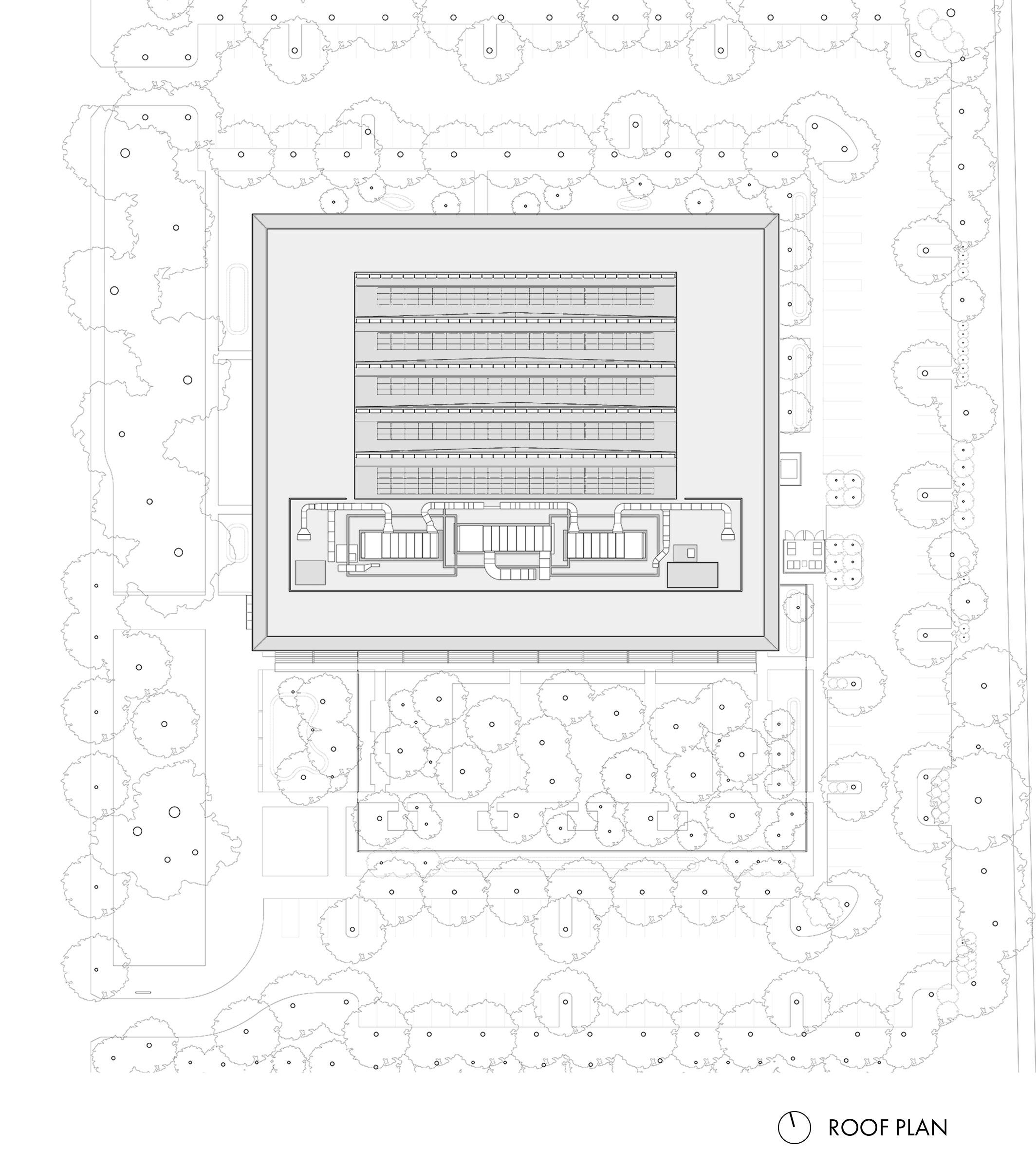 Google at 1212 Bordeaux Roof Plan
