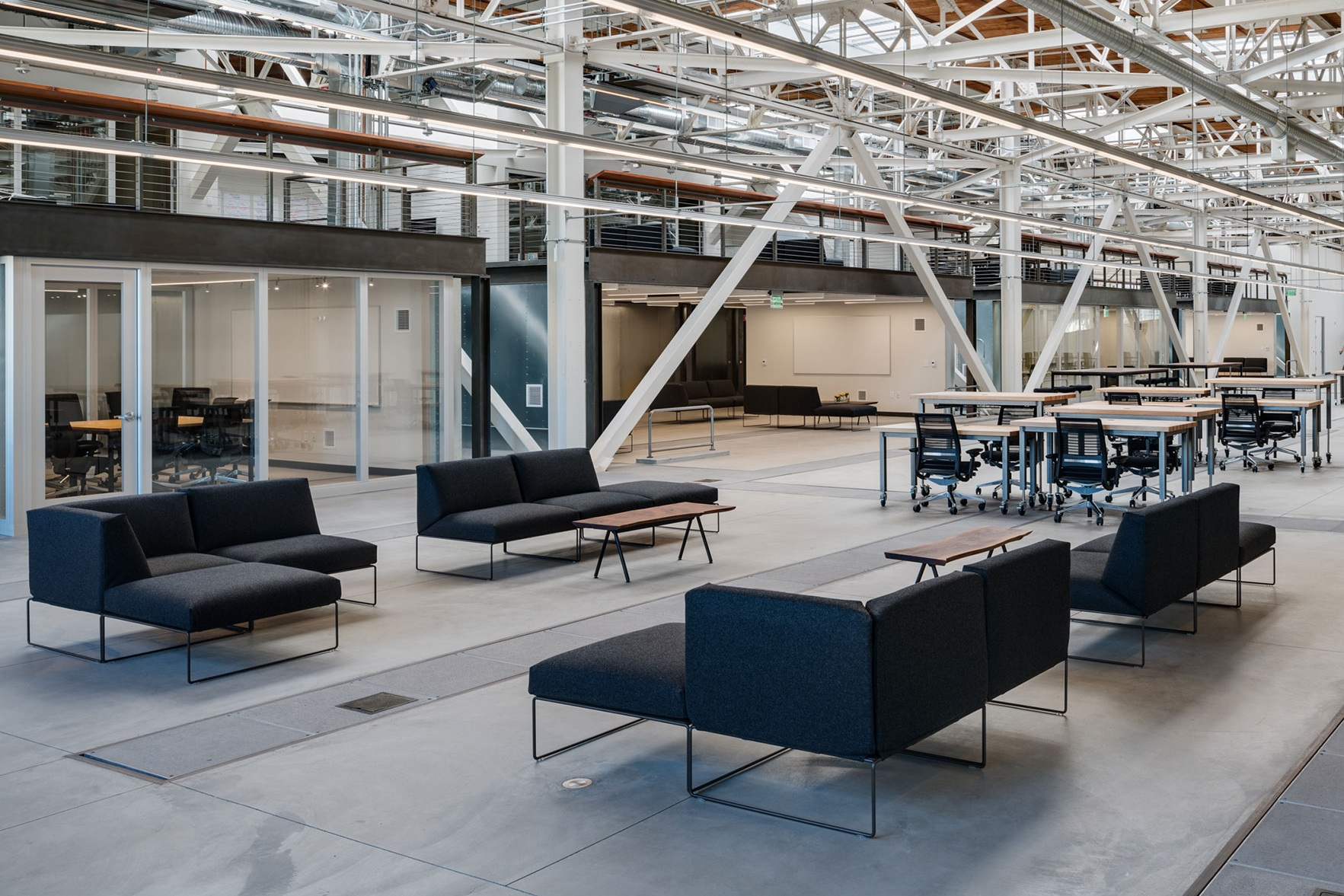 San Francisco Workplace, Office, Adaptive Reuse, Tech Company, Flexible Workspace, Furniture