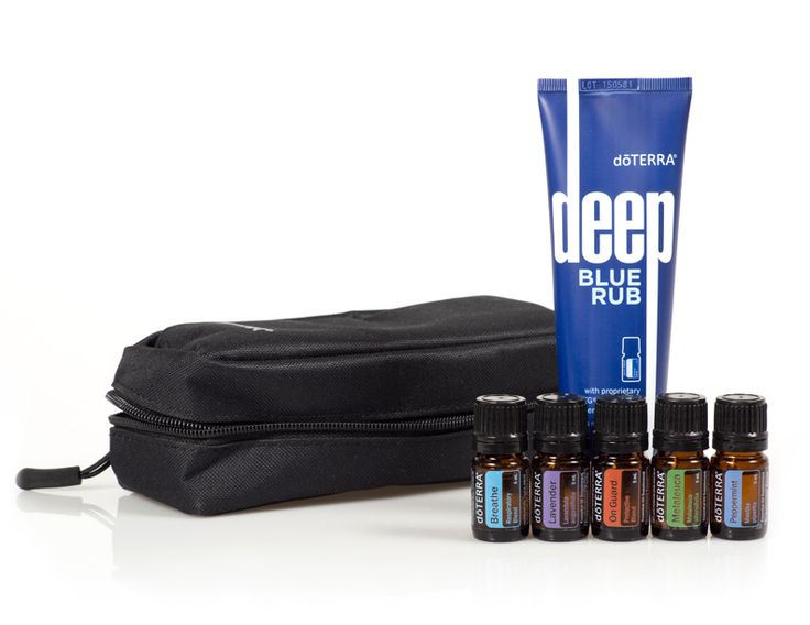 Use Essential Oils to relieve muscular aches and tension