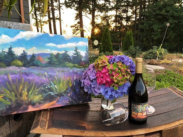 Join us tomorrow, July 20th, from 4-7 to experience our Plein Air Picnic with local artist Jackie McCartin and others. There will be food and music 🎶 We are looking forward to seeing you there!