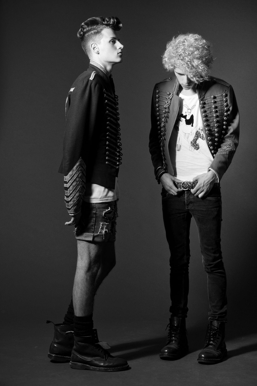 models  Mike &  Yannik   hair   Marco Arena & Team   make-up  Ira Möller  styling   Hair-Arena  / Corinna Saric