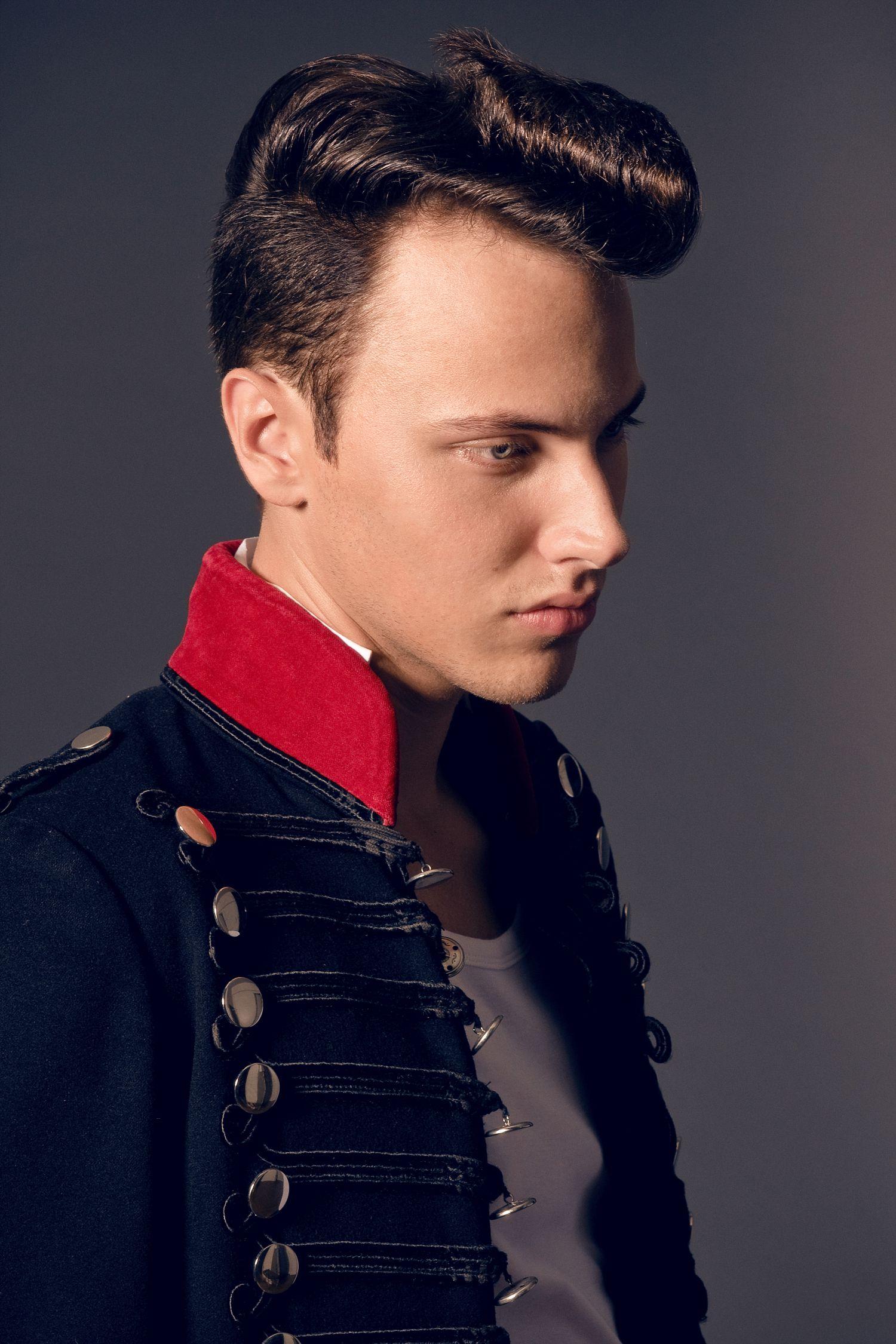 model  Denis  hair   Marco Arena & Team   make-up  Ira Möller  styling   Hair-Arena  / Corinna Saric