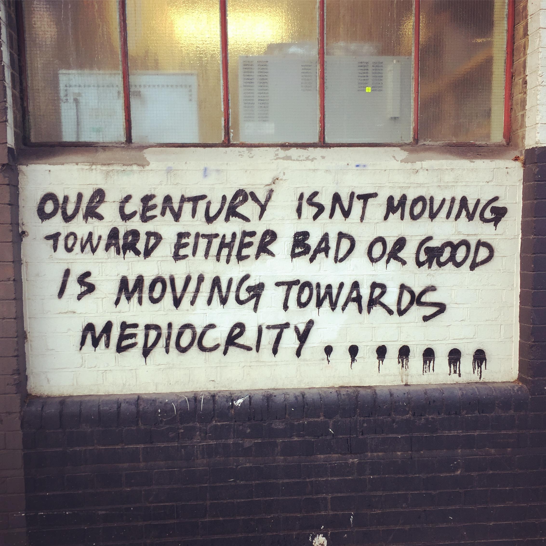 East End graffiti inspiration