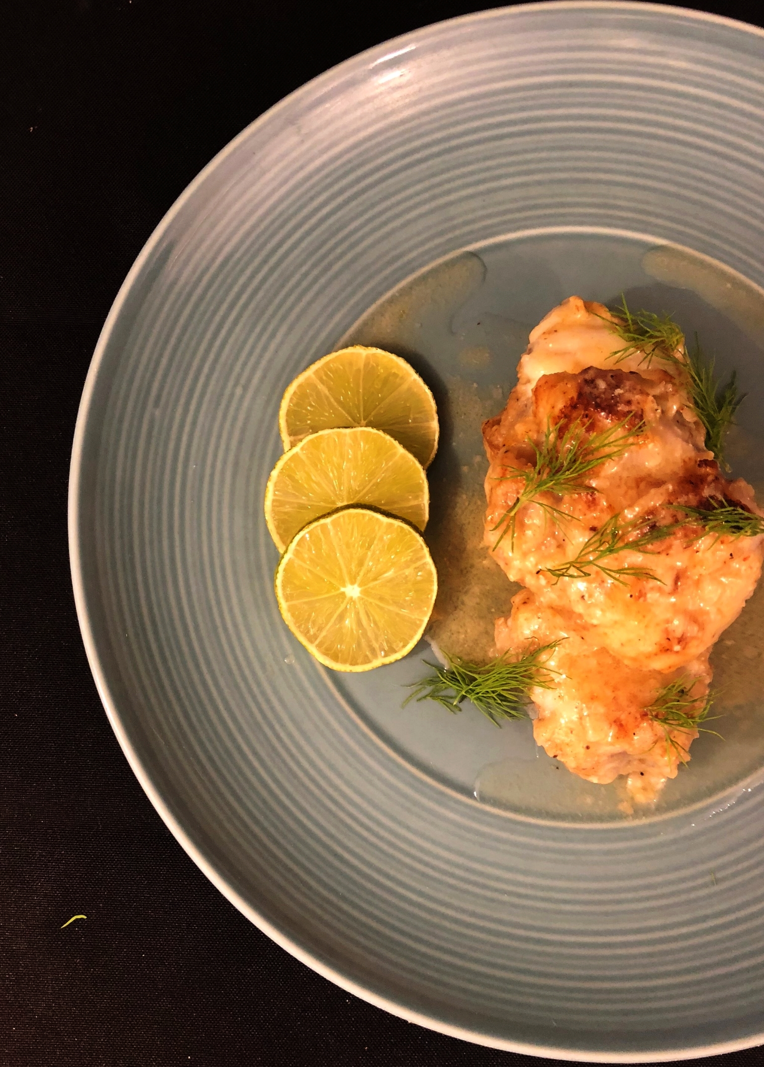 Monk Fish - With Spice the Sea