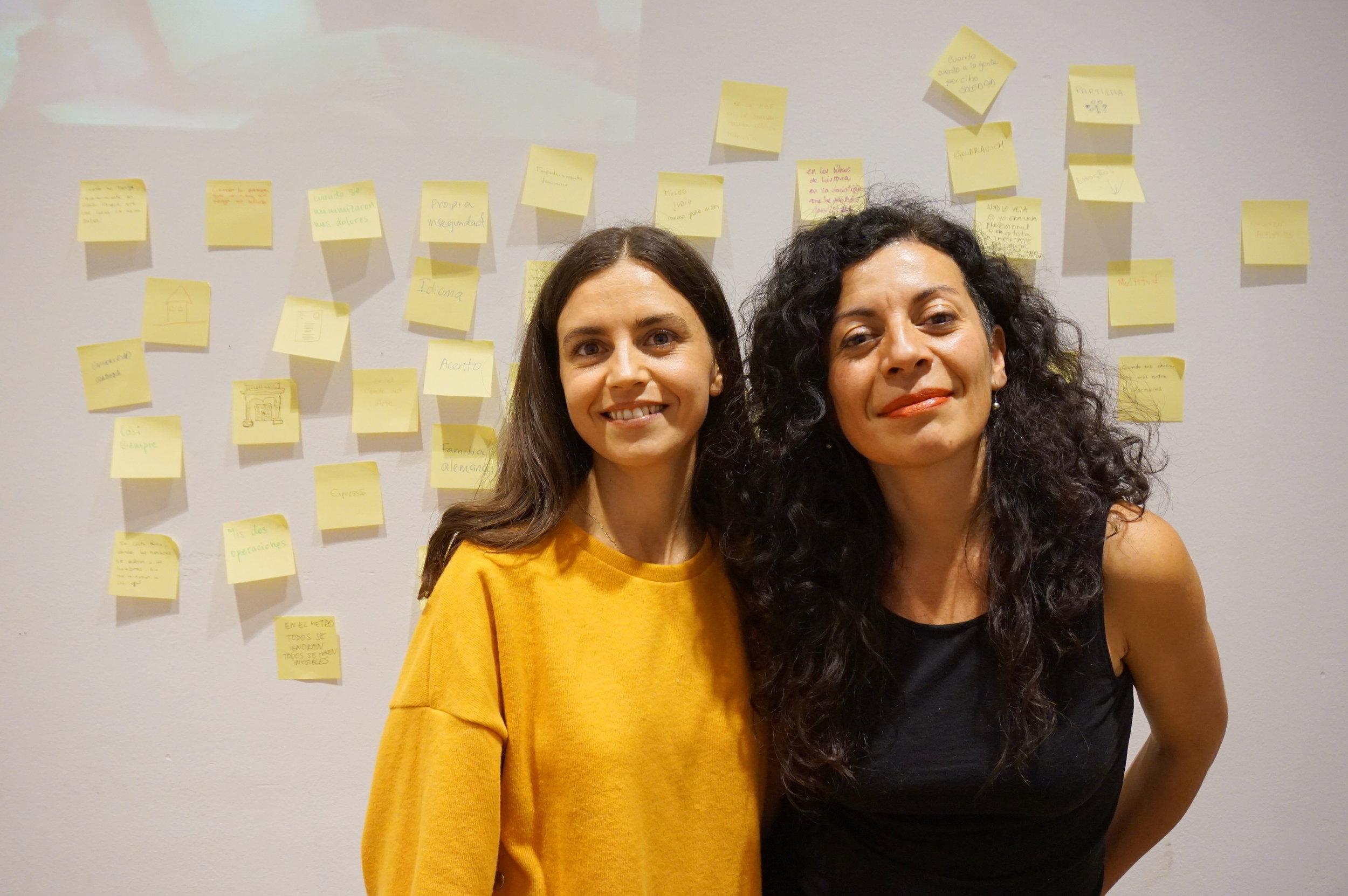 Fotos de Maria Luisa Herrera Rapela y Daniela Carvajal