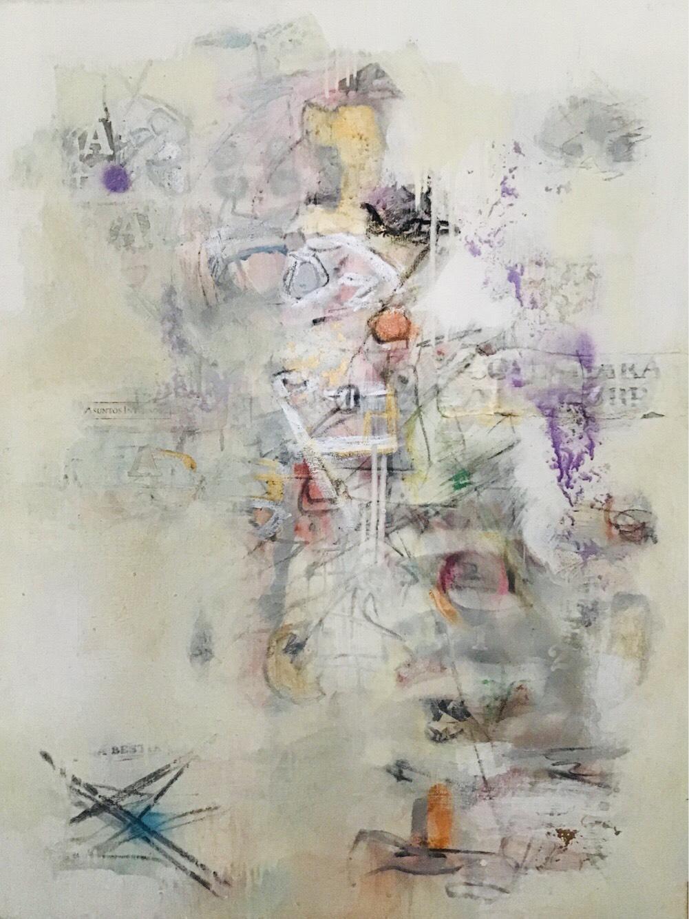 """Asuntos Internos"", obra pictórica de Jacqueline Bonacic-Doric"