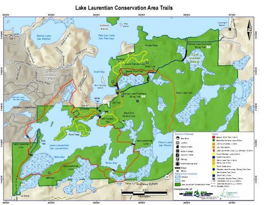 LLCA Trail Map