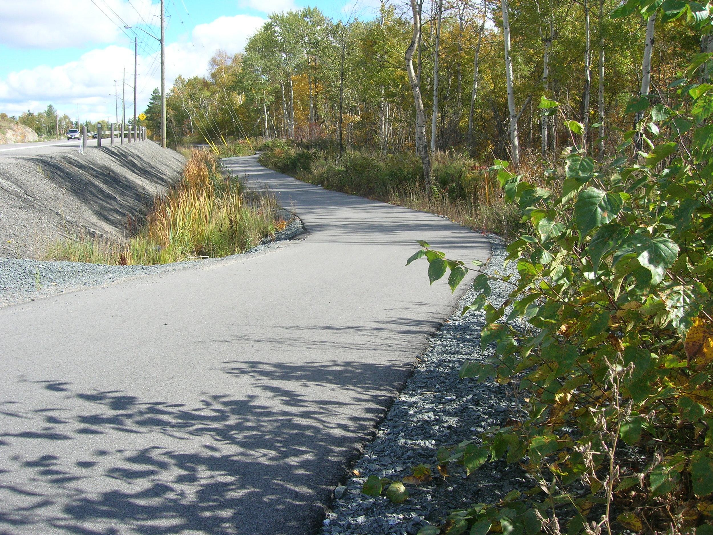Ramsey Lake Cycling Path.JPG