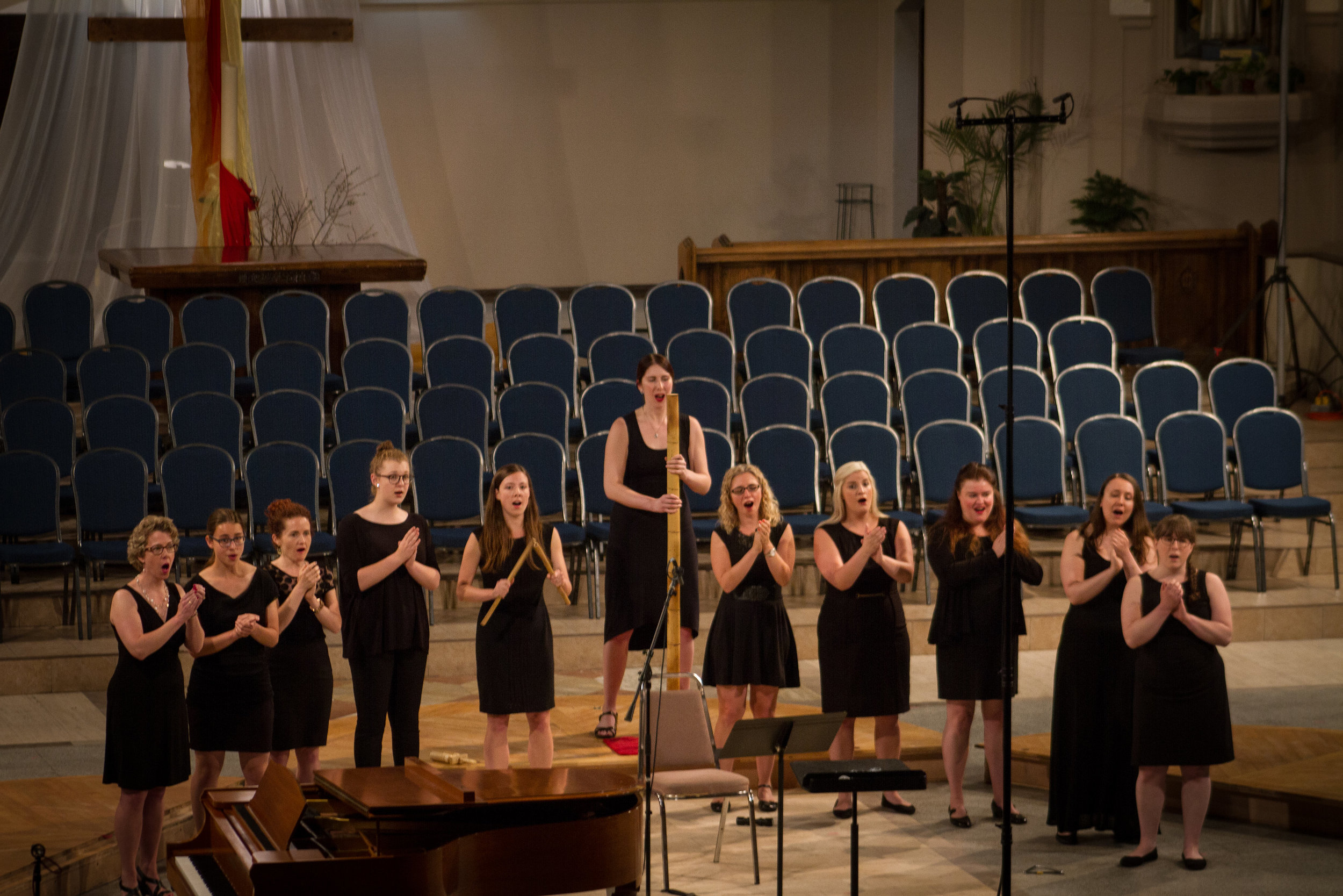 "Performing Stephen Hatfield's ""Überlebensgross"" at the  Sing Ottawa en choeur  festival on June 25, 2017.  Photo Credit:  Anthony Boxell Photography"