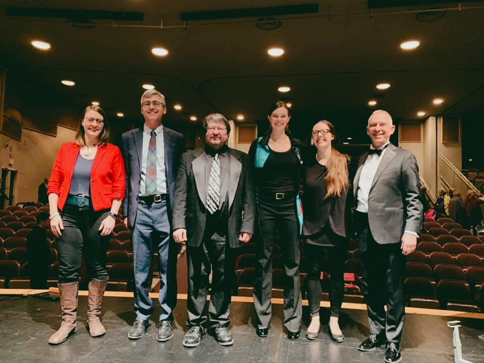 Conductors photo at the 2019 MosaiK Choral Festival in Ottawa, ON.