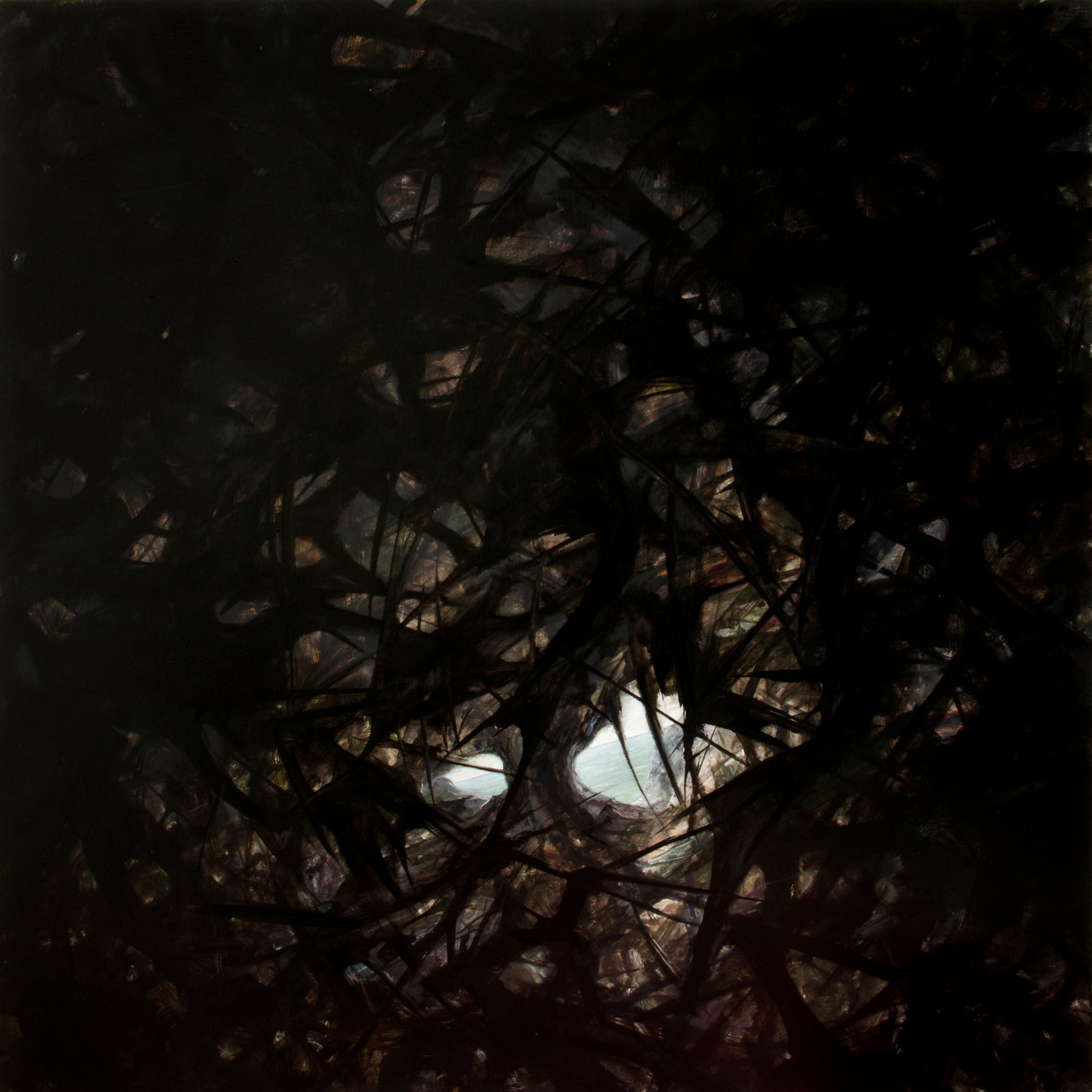 "jasonwernerart jasonwernerart Hope/Hopeless #10 54/54"" oil/canvas"