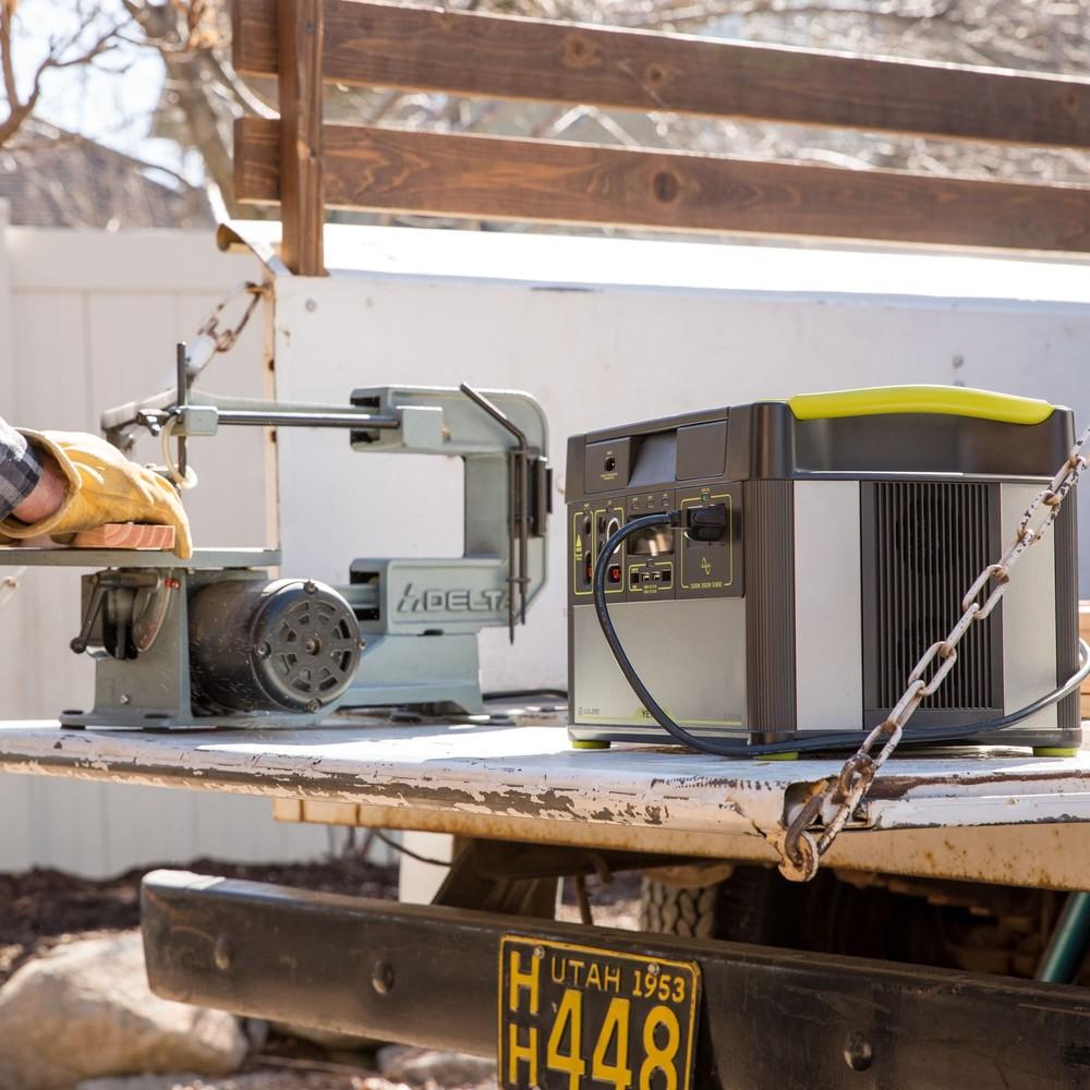 Goal Zero 1400 Lithium Power Station with WiFi + Boulder 100 Solar Kit Gal 2 l Solar Kit l Tiny Life Supply.jpg