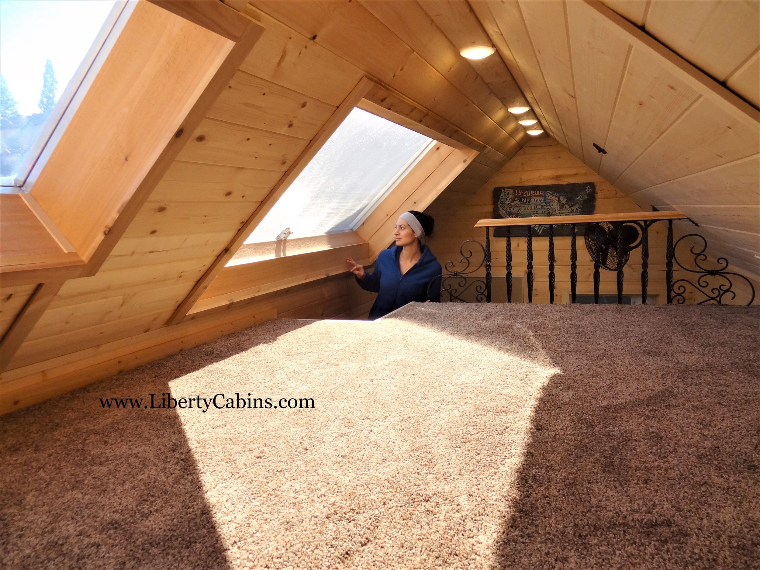 Liberation Cabins upstairs l Dream Loft l Tiny Life Supply.jpg