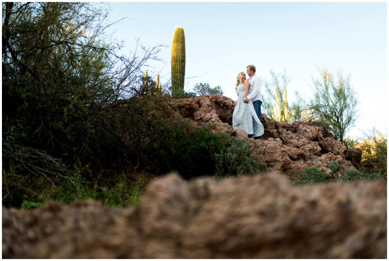 Salt River Engagement Photos