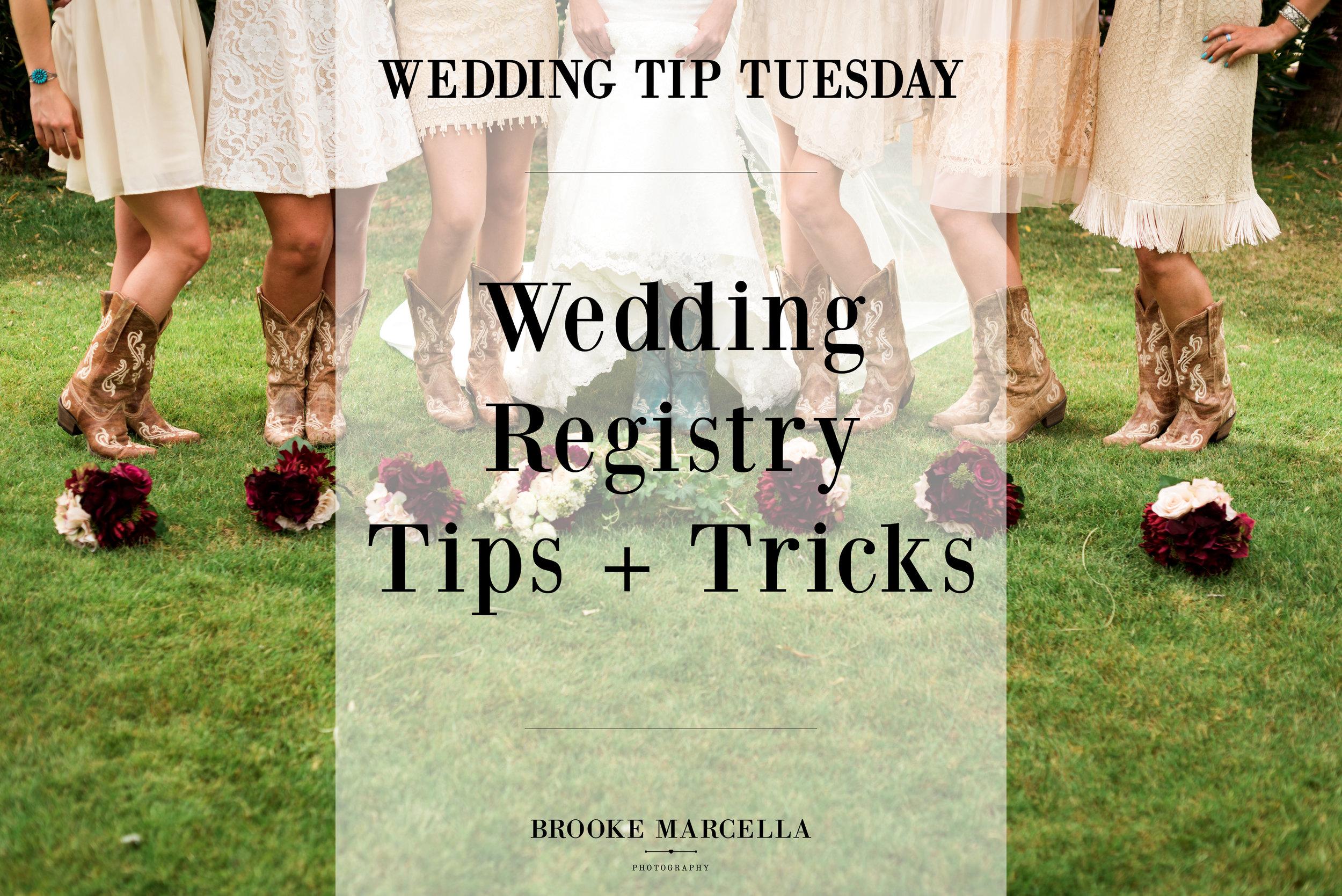 Wedding Registry Tips + Tricks