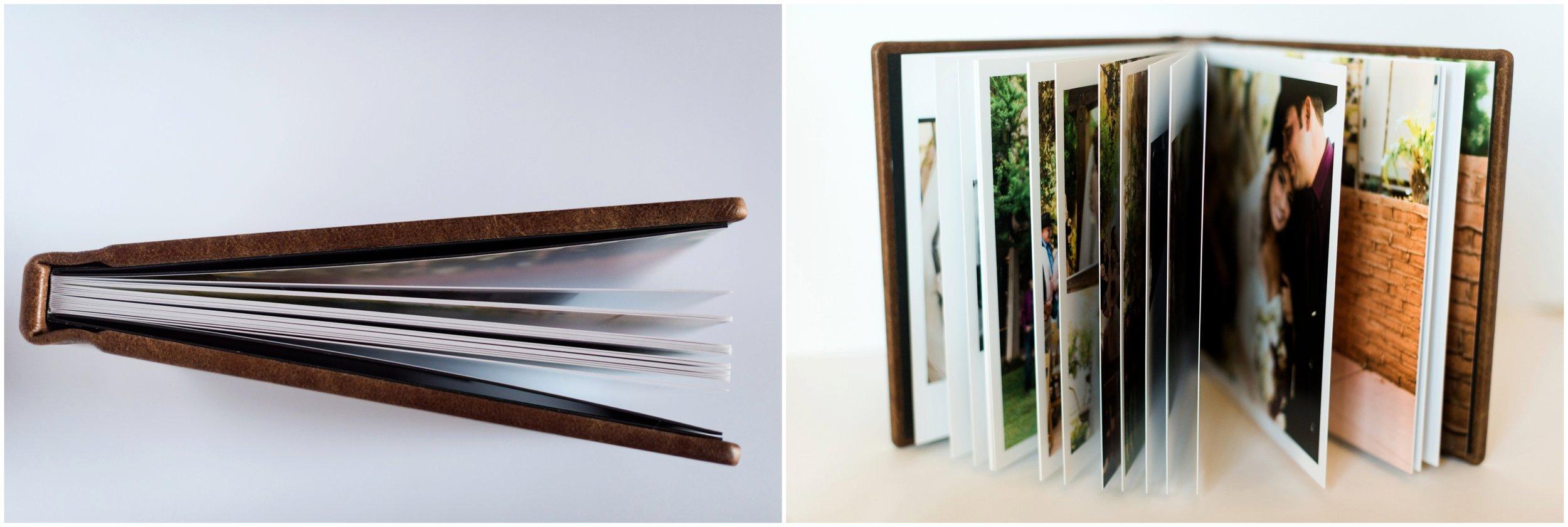 Turning digital photos into prints and professional wedding albums through KISS Books.