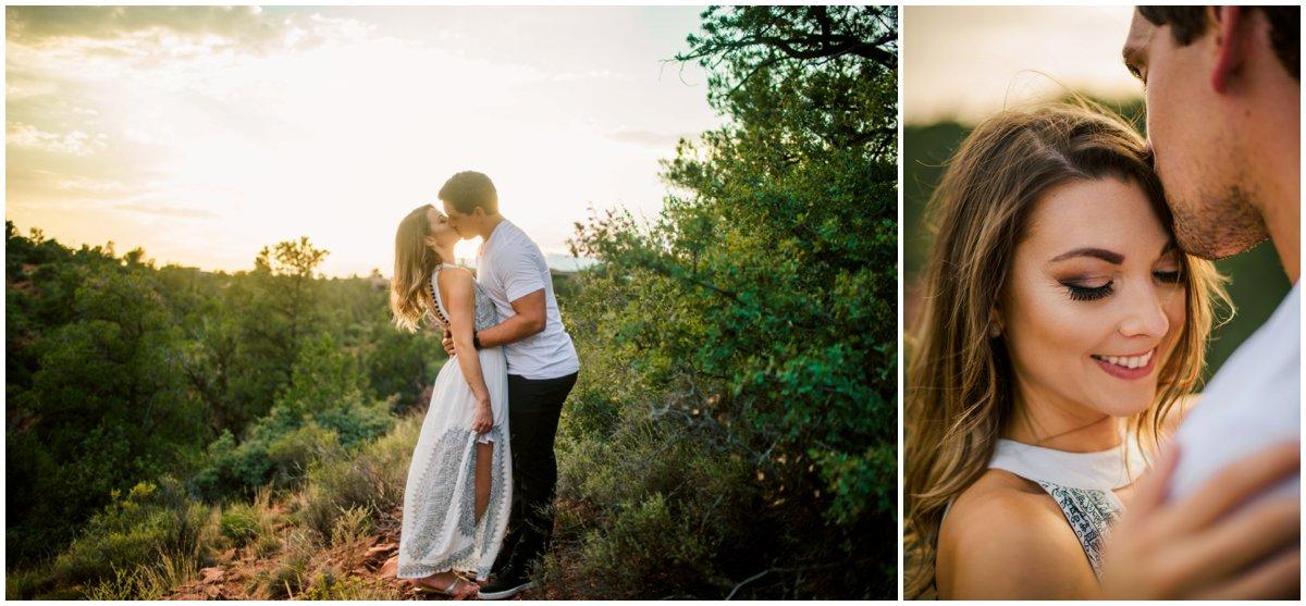 Engagement photos in Sedona, Arizona.