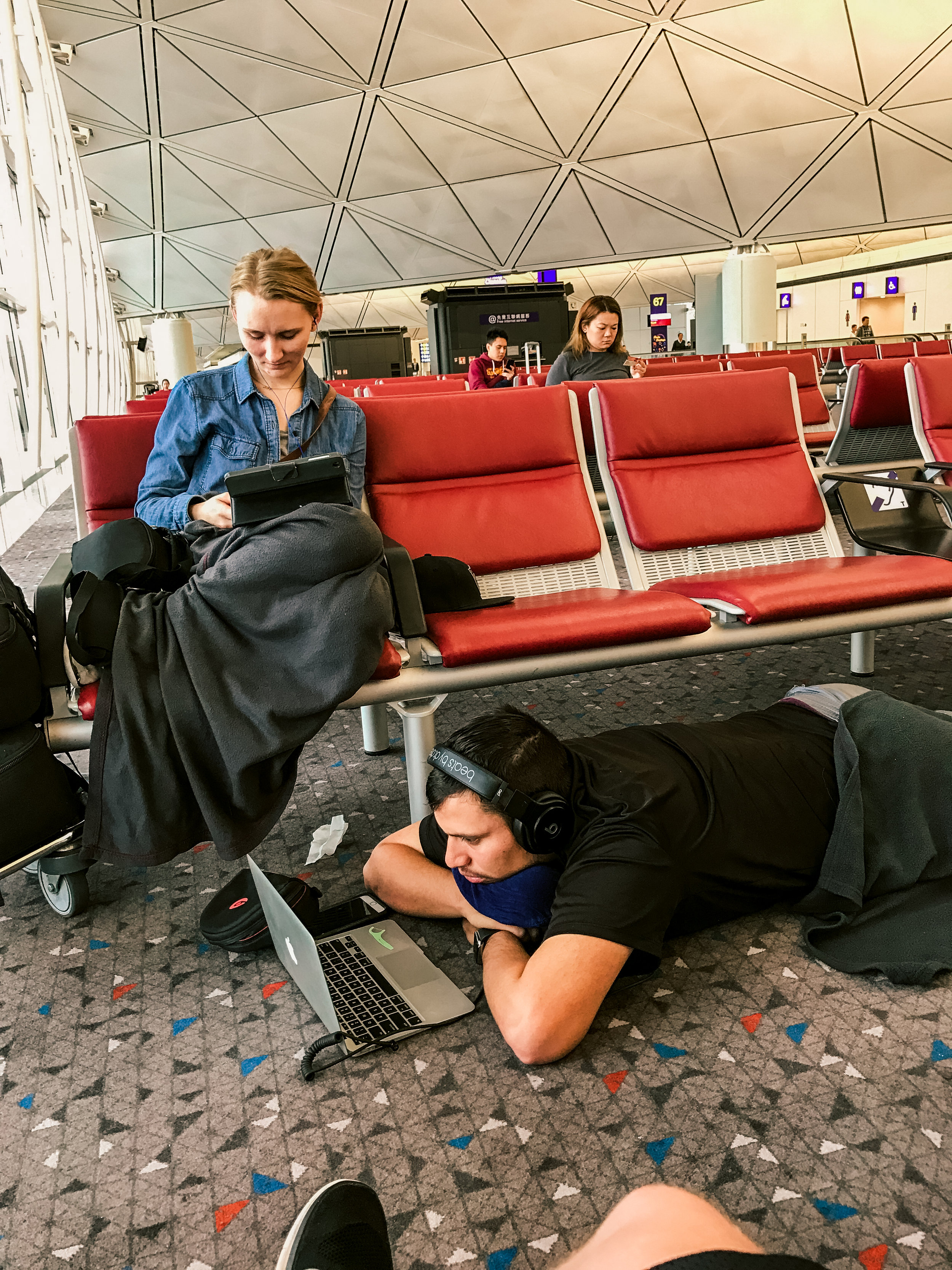 Lots of time was spent in airports ;)