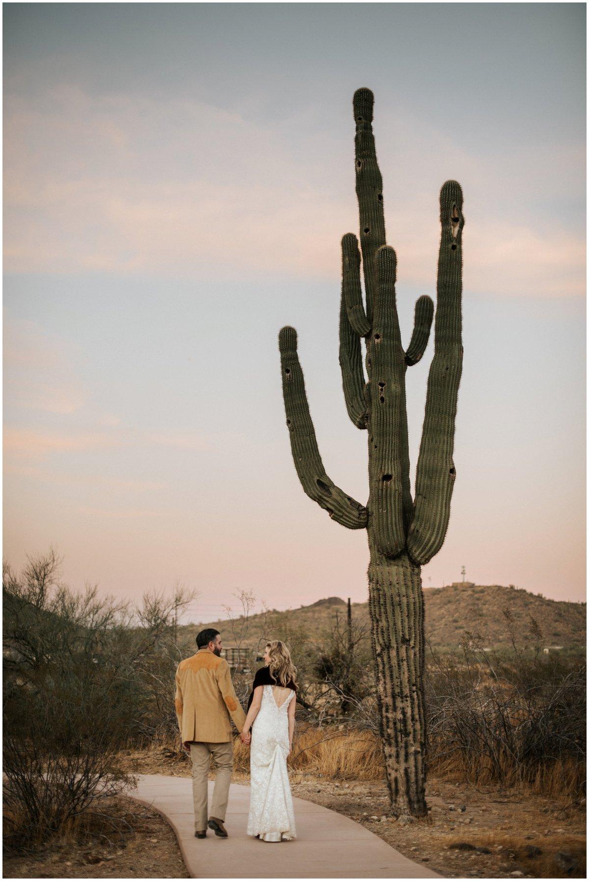 Southwestern Themed Desert Wedding