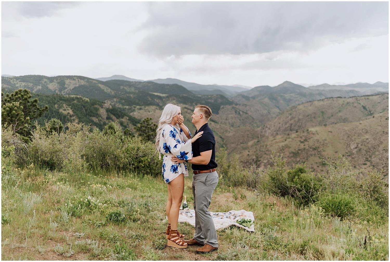 Surprise Colorado Mountain Top Proposal